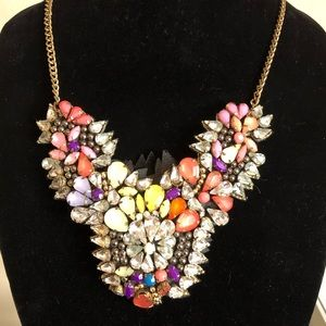 Tulip Time Statement Necklace
